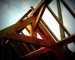Janvier Constructions Bois - Trégastel - Photos des charpentes