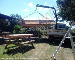 Janvier Constructions Bois - Trégastel - Carport KERBORS 22