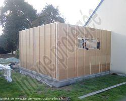 Janvier Constructions Bois - Trégastel - Extension ossature bois CAOUENNEC 22