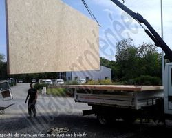 Janvier Constructions Bois - Trégastel - Construction ossature bois concept évoluty