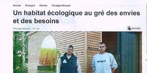 Article de presse Evoluty Ouest France